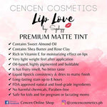 CenCen Cosmetics LIP LOVE - PREMIUM MATTE TINT 8ML WITH APPLICATOR
