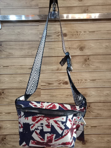 Skylar Graffiti Sling Bag