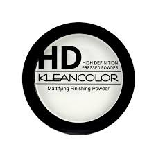 Kleancolor HIGH DEFINITION MATTIFYING FINISHING PRESSED POWDER