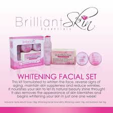 BRILLIANT SKIN WHITENING FACIAL SET