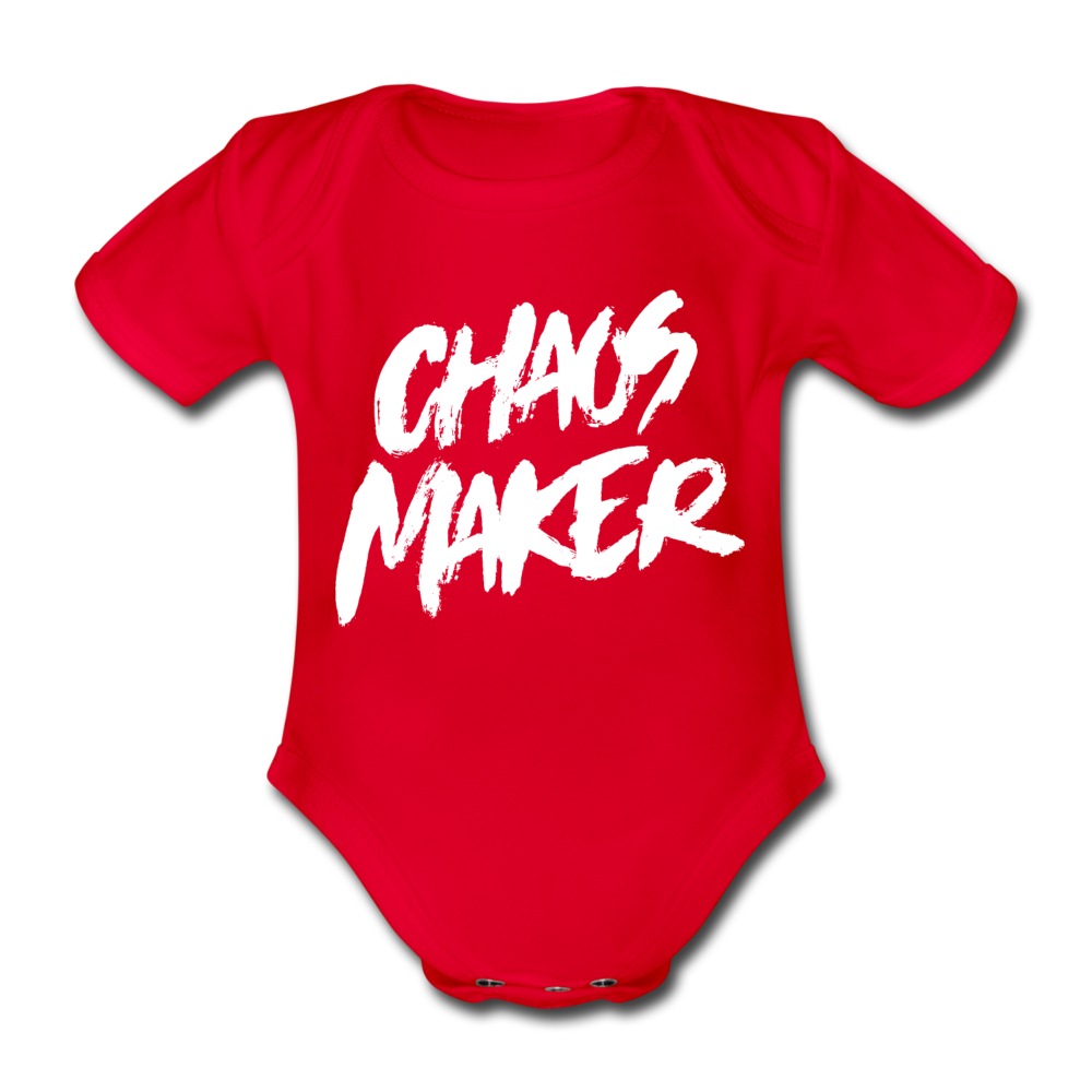 Strampler Chaos Maker - farbig - red