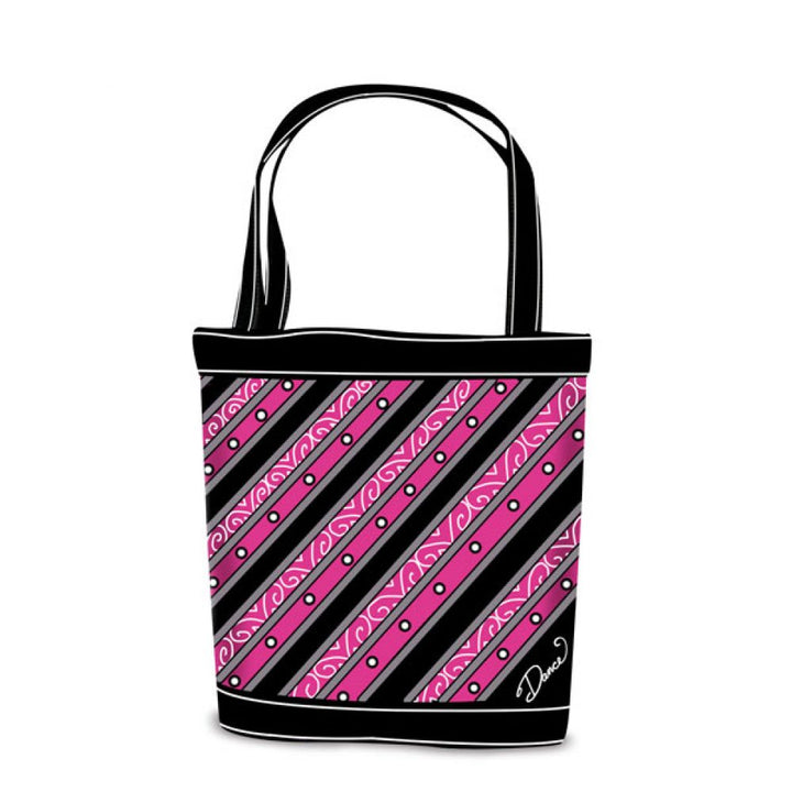 DSZ Dance Stripe Tote Bag