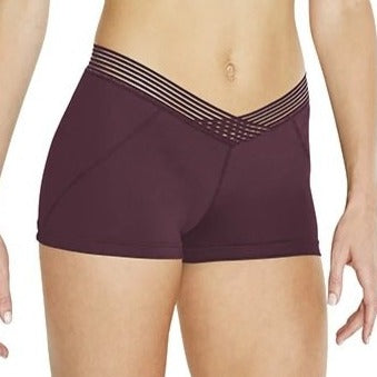 Bloch Adult Stripe Elastic Short FR5100