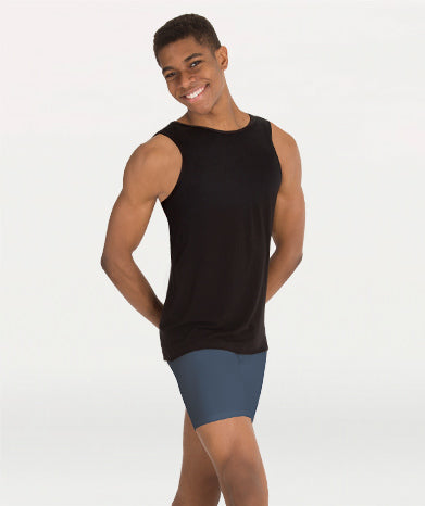 Bodywrappers M407 Men's ProWear Hi-Neck Tank Pullover