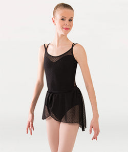 Bodywrappers P1241 Adult Mesh Bodice Leotard