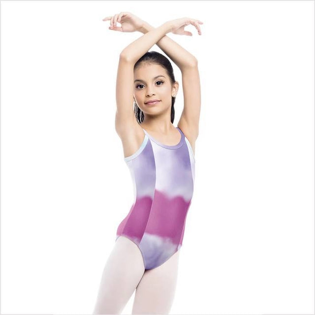 So Danca Child Tie Dye Cami Leotard SD-1762