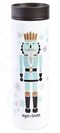 Sugar and Bruno Nutcracker Water Bottle