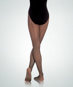 Bodywrappers A62 Adult Seamed Fishnet Tights
