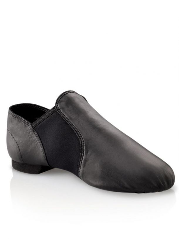 Capezio EJ2C Child Leather/Neoprene Jazz Shoe