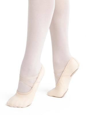 Capezio 2037W Adult Hanami Canvas Split Sole Ballet Shoe