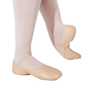 Capezio 212W Adult Leather Full Sole Ballet Shoe