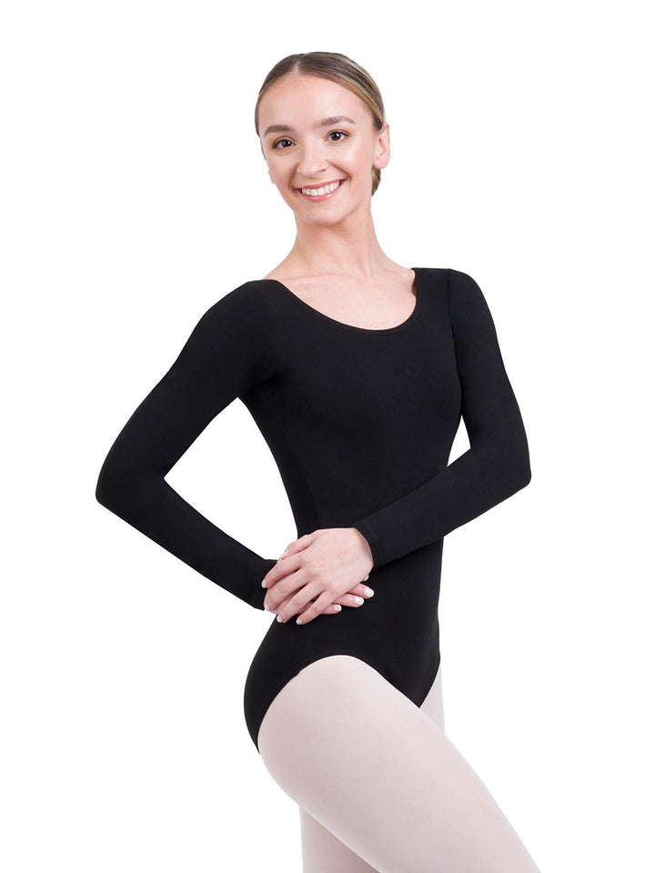 Capezio Adult Cotton Longsleeve Leotard CC450