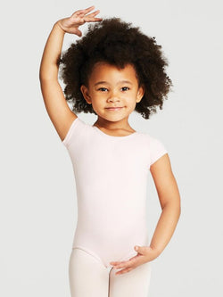 Capezio CC400C Child Cotton Short Sleeve Leotard