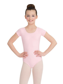 Capezio TB132C Child Team Basic Short Sleeve Leotard