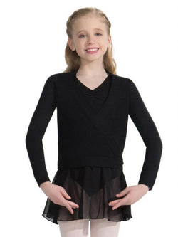 Capezio CK10949C Child Wrap Sweater
