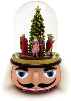 Nutcracker Head Water Globe