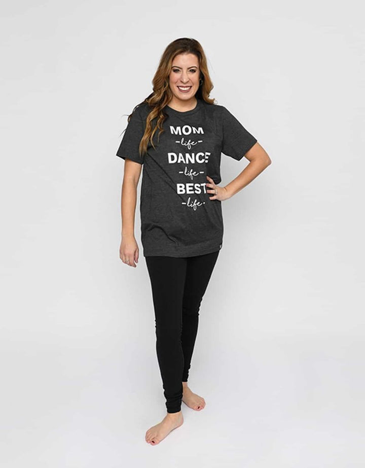 Adult Small Mom Life Tee D8961