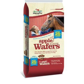 MANNA PRO APPLE WAFERS 20 LB