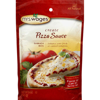 Mrs. Wages Pizza Sauce Tomato Mix 5 oz