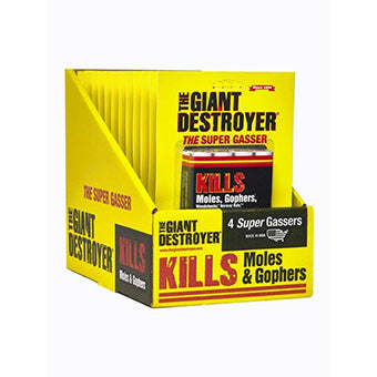 Giant Destroyer Mole Smoke Killer