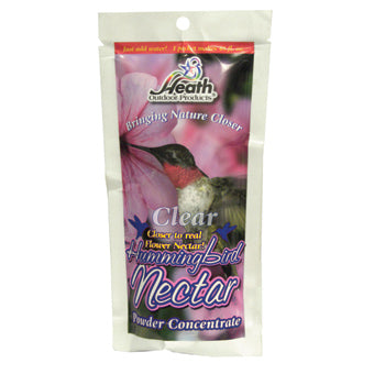 HEATH HUMMINGBIRD NECTAR CLEAR POWDER CONCENTRATE 8 OZ
