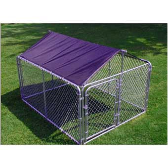 STEPHENS PIPE & STEEL SOLID KENNEL ROOF & FRAME 10' X 10'