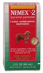 Nemex-2 Wormer for Dogs 60 ml