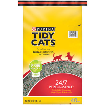 Tidy Cats 24/7 Performance Conventional Cat Litter 40lb