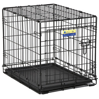 MID WEST CONTOUR SINGLE DOOR DOG CRATE 24 IN