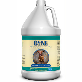 PETAG DYNE HIGH CALORIE LIQUID SUPPLEMENT FOR DOGS 1 GAL