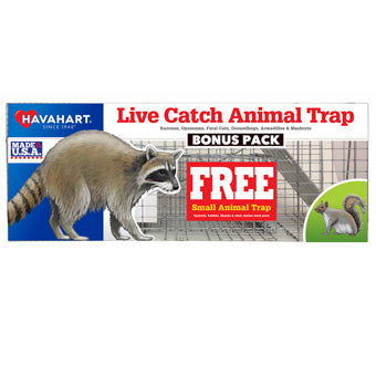 Havahart Live Catch Animal Trap 2 Pack