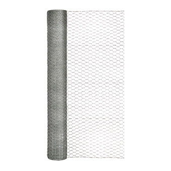 GARDEN ZONE OPB HEX NETTING GALVANIZED 1 IN X 48 IN X 150 FT