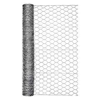 GARDEN ZONE OPB HEX NETTING GALVANIZED 2 IN X 48 IN X 50 FT