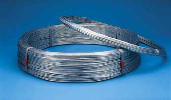 BEKAERT GALVANIZD SMOOTH WIRE 11 GA 260 FT 10 LB