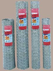 GARDEN ZONE HEXAGONAL NETTING 20 GA 1 IN X 24 IN X 25 FT
