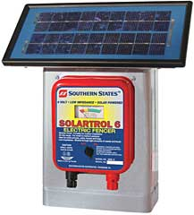 Southern States Solartrol Fence Charger 25M 6 volt