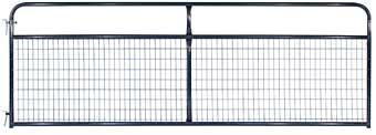 TARTER FARM WIRE FILLED GATE BLACK 2 IN X 4 IN X 4 FT