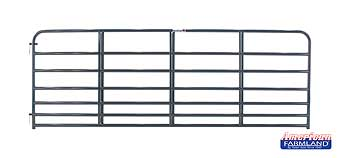TARTER 7 BAR STEELMAX STOCK GATE 1 3/4 IN 19 GA FILLER 17 GA RAIL 12 FT