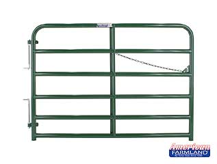 TARTER 6 BAR BULL GATE GREEN 2 IN X 10 FT