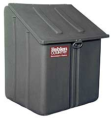 BEHLEN MULTIPURPOSE POLY STORAGE CONTAINER 25 IN X 25 IN X 34 IN