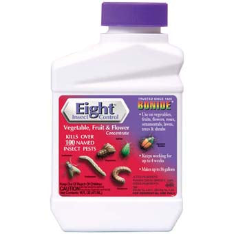 BONIDE EIGHT INSECT VEGETABLE FRUIT & FLOWER CONCENTRATE PT