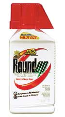 ROUNDUP WEED/GRASS KILLER CONCENTRATE PLUS 36.8 OZ