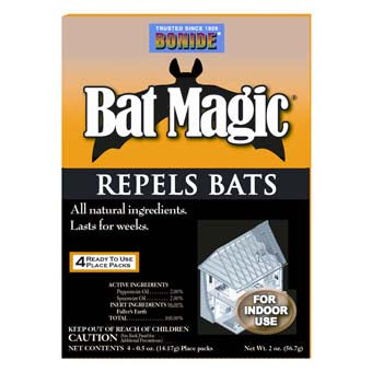 BONIDE BAT MAGIC REPELLENT PACK OF 4