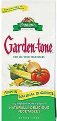 ESPOMA GARDEN-TONE 3-4-4 FERTILIZER