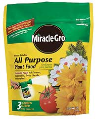 MIRACLE-GRO ALL PURPOSE PLANT FOOD 3 LB
