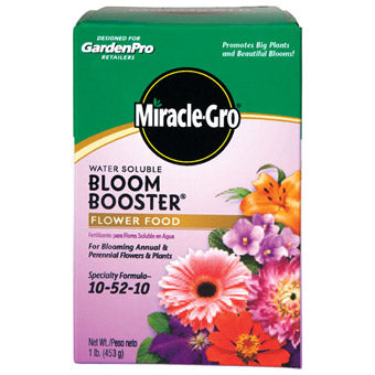 GARDEN PRO MIRACLE GRO BLOOM BUSTER PLANT FOOD 1 LB