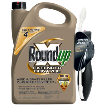 ROUNDUP EXTENDED CONTROL WEED & GRASS KILLER READY TO USE 1.33 GAL