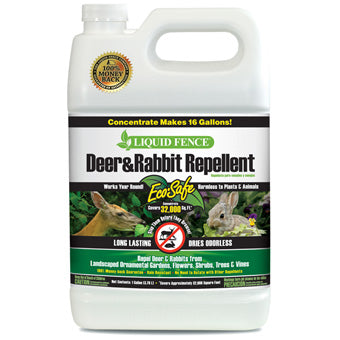 Liquid Fence Deer & Rabbit Concentrate 1 Gallon