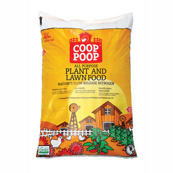 COOP POOP ALL PURPOSE GARDEN FOOD 40 LB