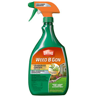 ORTHO WEED B GON MAX PLUS CRABGRASS CONTROL READY-TO-USE TRIGGER 24 OZ